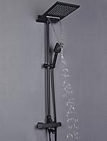 Недорогие -Смеситель для душа - Современный Окрашенные отделки На стену Медный клапан