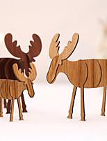Недорогие -Праздничные украшения Рождественский декор Рождество Декоративная Кофейный 4шт