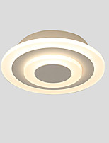 Недорогие -Монтаж заподлицо Рассеянное освещение Окрашенные отделки Металл Акрил Мини AC100-240V Теплый белый / Белый