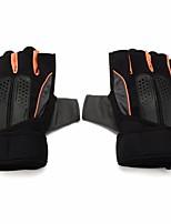 Недорогие -Half-палец Муж. Мотоцикл перчатки Микроволокно Дышащий / Защитный