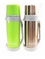 Недорогие -Drinkware Бутылки для воды / Организатор путешествий Сталь + Пластик / Нержавеющая сталь / Полипропилен + ABS сохраняющий тепло Для занятий спортом / Праздники