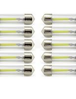 Недорогие -10 шт. 41mm Автомобиль Лампы 1 W COB 85 lm 1 Светодиодная лампа Внутреннее освещение / Внешние осветительные приборы Назначение Универсальный Универсальный / KX5 Универсальный