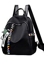 Недорогие -Жен. Мешки PU рюкзак Молнии Сплошной цвет Черный