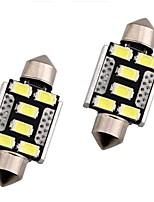 Недорогие -OTOLAMPARA 2pcs 36mm Автомобиль Лампы 3 W SMD 5630 240 lm 6 Светодиодная лампа Внешние осветительные приборы Назначение Honda CR-V / Civic / Accord 2018 / 2013 / 2014