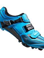 Недорогие -21Grams Взрослые Обувь для велоспорта Дышащий, Ультралегкий (UL), Удобный Велосипедный спорт / Велоспорт / Горный велосипед Тёмно-синий Муж.