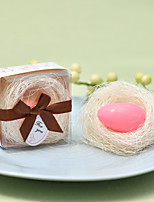 Недорогие -Свадьба / Вечеринка для будущей матери Другие материалы Для душа и ванной / Сувениры для чаепития Рождение ребенка / Свадьба - 1 pcs