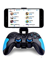 abordables -STK-7021X Sans Fil Poignée du contrôleur Pour Android ,  Bluetooth Portable / Créatif / Design nouveau Poignée du contrôleur PVC 1 pcs unité