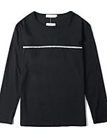 Недорогие -женская / мужская футболка - буква шея