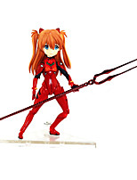 billiga -Anime Actionfigurer Inspirerad av Neon Genesis Evangelion Cosplay pvc 14 cm CM Modell Leksaker Dockleksak
