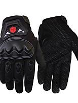 Недорогие -Полныйпалец Все Мотоцикл перчатки Углеродное волокно / Плетеные изделия Износостойкий / Non Slip