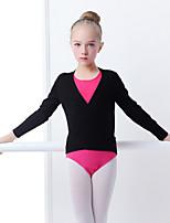 abordables -Danse classique Hauts Fille Entraînement / Utilisation Elasthanne / Lycra Elastique Manches Longues Haut