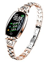 Недорогие -KUPENG H8 Умный браслет Android iOS Bluetooth Smart Спорт Водонепроницаемый Пульсомер Измерение кровяного давления / Сенсорный экран / Израсходовано калорий / Длительное время ожидания / Педометр