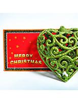 Недорогие -Праздничные украшения Рождественский декор Рождественские украшения Для вечеринок Золотой / Серебряный / Красный 1шт