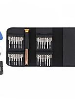 baratos -OEM Portátil Multi-Design 25 in 1 Conjuntos de Ferramentas Conjunto de ferramentas de reparo de carteira Reparação em casa Reparo da Apple Samsung para conserto de computadores