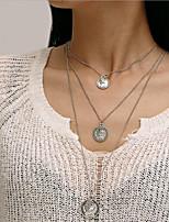 Недорогие -Жен. Старинный Винтажное ожерелье - Золотой, Серебряный 50 cm Ожерелье Бижутерия 1 комплект Назначение Свадьба, Для вечеринок