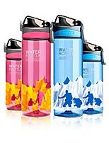 Недорогие -Drinkware Бутылка спорта / Бокал / Водный горшок и чайник Полипропилен + ABS / ABS + PC Компактность / Подруга Gift Учебный / Для занятий спортом