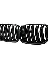 Недорогие -2pcs Автомобиль Отделка передней решетки автомобиля Деловые Тип подвески для Решетка для автомобилей Назначение BMW 5-й серии 2010 / 2011 / 2012