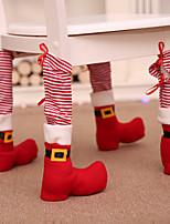 Недорогие -Праздничные украшения Рождественский декор Рождество Декоративная Красный 4шт