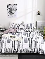 Недорогие -Пододеяльник наборы Stripes / Рябь Полиэстер С принтом 3 предметаBedding Sets / 300