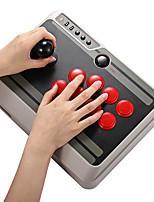 abordables -8bitdo nes30 support de manette de jeu bluetooth arcade personnalisable ios android pc mac linux