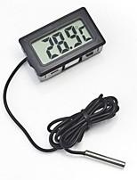 Недорогие -Жк-цифровой термометр аквариумный термометр цифровой датчик метеостанция