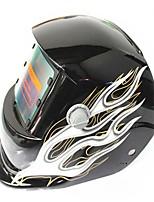 Недорогие -солнечная автоматическая потемнение сварочный шлем 107 жимолость