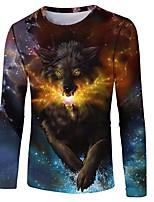 billiga -Inspirerad av KARNEVAL Cosplay Animé Cosplay-kostymer Cosplay T-shirt Andra / Nyhet / Mode T-shirt Till Unisex Halloweenkostymer