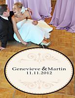 baratos -Casamento / Aniversário Etiquetas, Etiquetas e tags - 1 pcs Circular Adesivo de Pista de Dança Todas as Estações