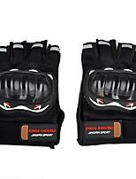Недорогие -Half-палец Все Мотоцикл перчатки Ткань Износостойкий / Non Slip