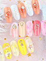 abordables -1 pcs Bijoux pour ongles Universel / Nouveautés Thème classique Créatif Manucure Manucure pédicure Quotidien / Festival Coréen / Mode