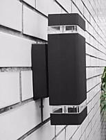 baratos -1pç 8 W Focos de LED Impermeável Branco Quente / Branco Frio 85-265 V Iluminação Externa 8 Contas LED