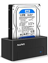 baratos -MAIWO Gabinete do disco rígido Resina ABS USB 3.0 K308C