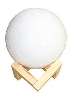 Недорогие -лунный свет погладить триколор 10 см умный свет yqd1 1002 3d печать свет дома декоративные ночной свет для подарка
