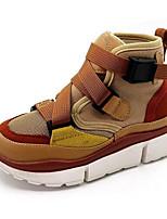 Недорогие -Мальчики / Девочки Обувь Микроволокно Осень Удобная обувь Спортивная обувь для Дети Белый / Миндальный