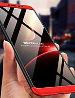 Недорогие -Кейс для Назначение Xiaomi Xiaomi Mi Max 3 Защита от удара / Матовое Кейс на заднюю панель Однотонный Твердый ПК для Xiaomi Mi Max 3