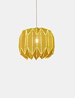 abordables -Nouveauté Lampe suspendue Lumière d'ambiance Finitions Peintes Métal Design nouveau 110-120V / 220-240V Blanc Crème