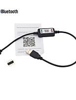 abordables -1pc Accessoire de feuillard / avec connecteur DC ABS + PC Manette pour la lumière de bande de LED RVB