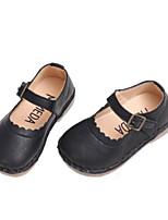 Недорогие -Девочки Обувь Микроволокно Весна & осень / Осень Удобная обувь На плокой подошве для Дети (1-4 лет) Черный / Коричневый