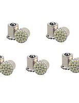 Недорогие -10 шт. 1156 / 1157 Автомобиль Лампы 1 W SMD 3014 100 lm 22 Светодиодная лампа Лампа поворотного сигнала Назначение Дженерал Моторс Универсальный