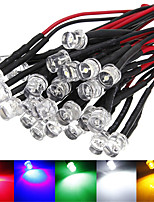billiga -5pcs Dip LED Självlysande Aluminum LED-chip