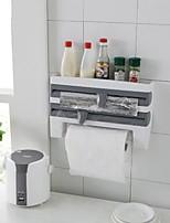 baratos -Organização de cozinha Caixas de Armazenamento ABS Armazenamento / Gadget de Cozinha Criativa / Fácil Uso 1pç
