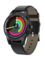baratos -Kimlink N3 Relógio inteligente Android iOS Bluetooth Monitor de Batimento Cardíaco Calorias Queimadas Chamadas com Mão Livre Distancia de Rastreamento Informação Cronómetro Podômetro Aviso de Chamada