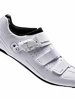 Недорогие -21Grams Взрослые Обувь для велоспорта Дышащий, Ультралегкий (UL) Шоссейные велосипеды / Велосипедный спорт / Велоспорт Белый