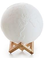 Недорогие -Модерн LED / Новый дизайн Настольная лампа Назначение Кабинет / Офис Дерево / бамбук <36V Белый