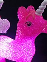 Недорогие -1шт Unicorn LED Night Light Батарея с батарейкой Креатив / Украшение <=36 V