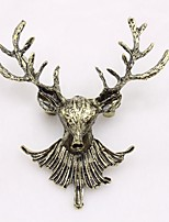 Недорогие -Жен. Классический Броши - Elk Дамы, Художественный Брошь Бижутерия Бронзовый Назначение Рождество / фестиваль