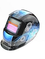 Недорогие -солнечная автоматическая потемнение сварочный шлем 107 синяя катушка