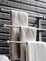Недорогие -Держатель для полотенец Многослойный Modern Нержавеющая сталь 1шт - Ванная комната / Гостиничная ванна Полотенцесушитель 3 На стену