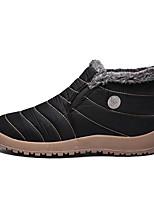 Недорогие -Муж. Комфортная обувь Полиуретан Наступила зима На каждый день Мокасины и Свитер Сохраняет тепло Ботинки Черный / Серый / Синий