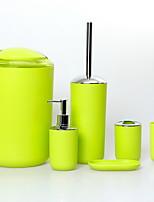 Недорогие -Держатель для зубных щеток / Набор для ванной Креатив Современный Пластик